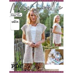 Gratis Geprint Patroon Vest Vivian uit Miss Doodle