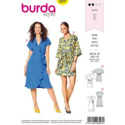 Burda 6207 Jurkjes Jonge mode