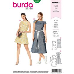 Burda 6209 Jurkjes Jonge mode