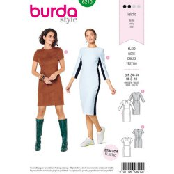 Burda 6210 Jurkjes Jonge mode