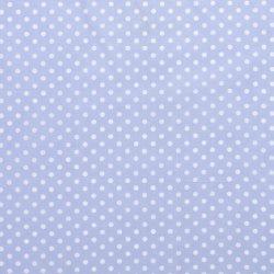 Poplin Katoen met Stippen 05570 Blauw 002