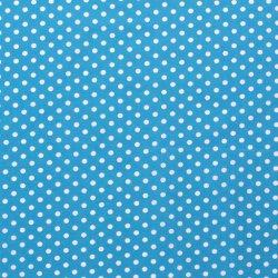Poplin Katoen met Stippen 05570 blauw 004