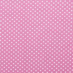 Poplin Katoen met Stippen 05570 Roze 011