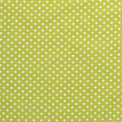 Poplin Katoen met Stippen 05570 Lime 024