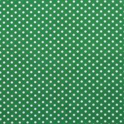 Poplin Katoen met Stippen 05570 Groen 025