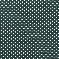 Poplin Katoen met Stippen 05570 Groen 028