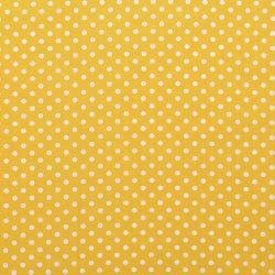 Poplin Katoen met Stippen 05570 geel 035