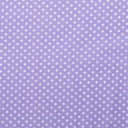 Poplin Katoen met Stippen 05570 Lila 043