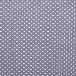 Poplin Katoen met Stippen 05570 grijs 061