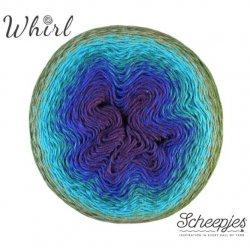 Whirl Scheepjeswol Groen Blauw Paars 769 Blackberry Mint Chip