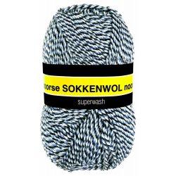 Noorse Sokkenwol. Pendikte 3-4 mm. Kleur 6846. Scheepjeswol.