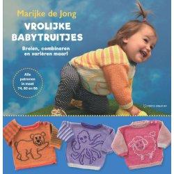 Vrolijke babytruitjes - Marijke de Jong