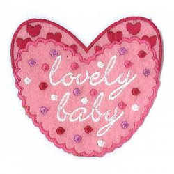Applicatie Hearts Lovely Baby  013.9618