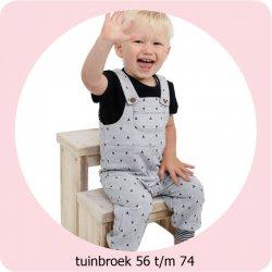 Patroon Tuinbroek 56/74 056.ADIY1