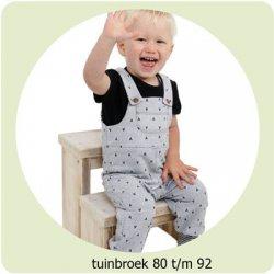 Patroon Tuinbroek maat 80 t/m 92 056.ADIY2