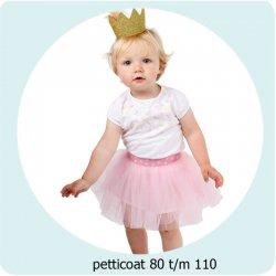 Patroon Petticoat maat 80 t/m 110 056.ADIY25