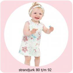 Patroon Strandjurk maat 80 t/m 98 056.ADIY27