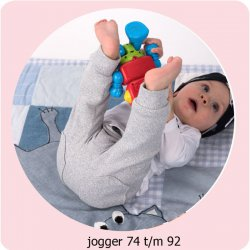 Patroon Jogger maat 74 t/m 92 056.ADIY6