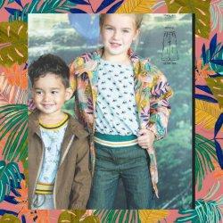 Canvas Tropische Bladeren V 07400 Roze 005