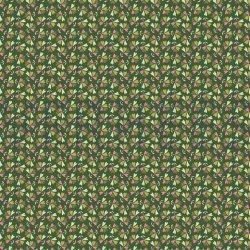Poplin Katoen lieve kleine bladeren V 07171 groen 004