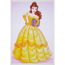 Diamond painting kit Disney Belle PN-0173559