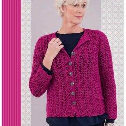 Gratis geprint patroon Posy Cardigan Vest van Merino Soft