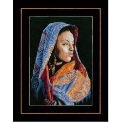 Telpakket kit Afrikaanse dame PN-0149998