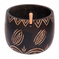 KnitPro Yarn bowl bladeren K35008