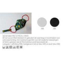Mondmasker filter 90cm wit 025.AO103
