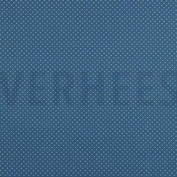 Poplin Katoen met kleine stipjes 04948 V Blauw 025
