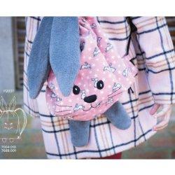 Flanel Sweet Bunny 07688 Roze 001