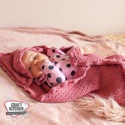Gratis geprint patroon Babydeken
