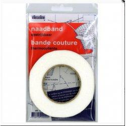Vlieseline Naadband Strijkbaar in Wit of Zwart