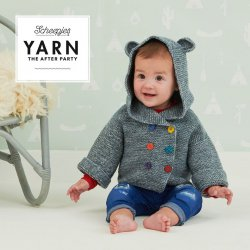 Gratis geprint patroon Billy Bear Jacket van Merino Soft Brush