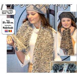 Sjaal Sadie C1005 uit Miss Doodle 2 herfst winter 2020 Gratis geprint patroon