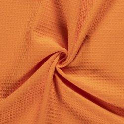 Wafelstof Uni 100% Katoen 02902 Oranje 036