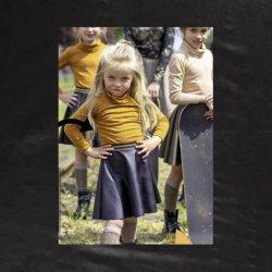 Stof voor rokje model P1072 uit Miss Doodle 2 herfst winter 2020 art 14175 zwart 069