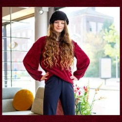 Fleece Uni 14069 Bordeaux 018