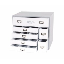 DMC DESIGN BOX INCL. 120 STRENGEN EN 20 KAARTEN
