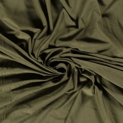 Bamboe Jersey uni Nooteboom 14530 Khaki Groen