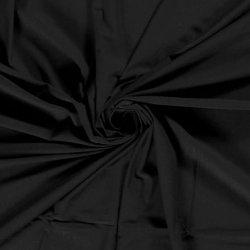 Bamboe Jersey uni Nooteboom 14530 zwart 069