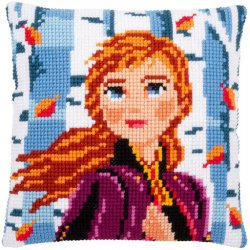 KRUISSTEEKKUSSEN KIT DISNEY FROZEN 2 ANNA