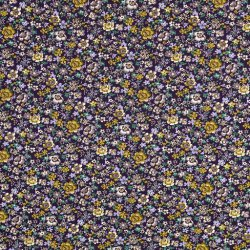 Katoen Poplin Bloemetjes 123590 0802
