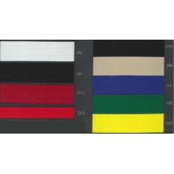 Keperband Nylon grof in 20-25-30-40-50 mm. Per cm/mtr te bestellen.