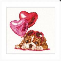 Thea G. Valentine's Puppy op Aida