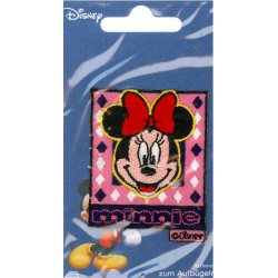 Applic. Minnie Mouse met rode strik