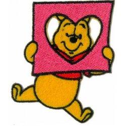 Applic. Winnie Pooh met een hart