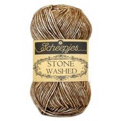 Stone Washed. Pendikte 3-3,5 mm. Kleur 804. Boulder Opal. Scheepjeswol.