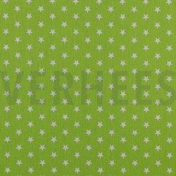 Poplin Kleine Sterretjes 04955 V Lime 008