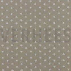 Poplin Kleine Sterretjes 04955 V Zand 022